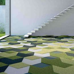 Textiles FreeForm Carpet Tiles