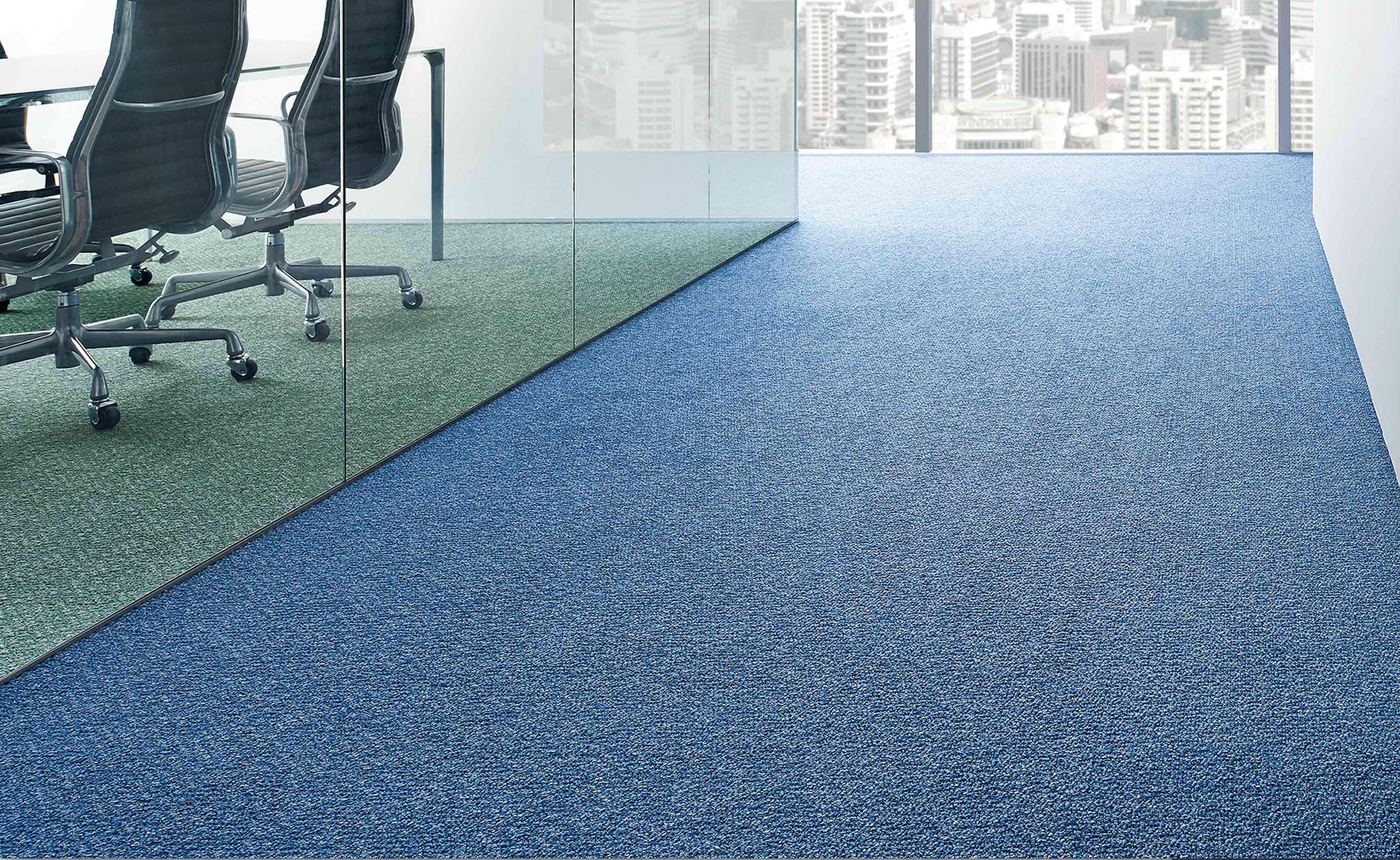 Bright Plain Carpet Tiles Ecofloors